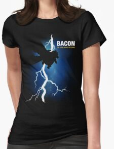 Bacon: The Pork Knight Returns Womens Fitted T-Shirt