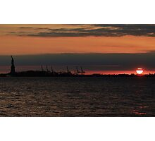 NYC Sunset Photographic Print