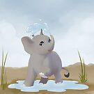Splashing fun by Tunnelfrog