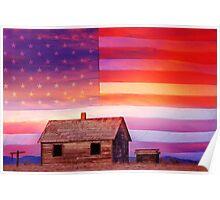 Rural Rustic America Poster