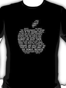 Apple Typography T-Shirt