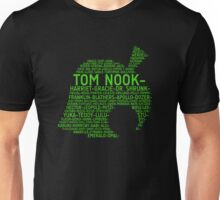 Animal Crossing Typography T-Shirt
