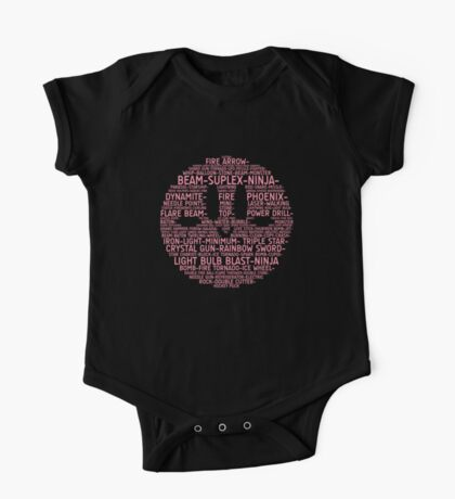 Kirby Typography Kids Clothes