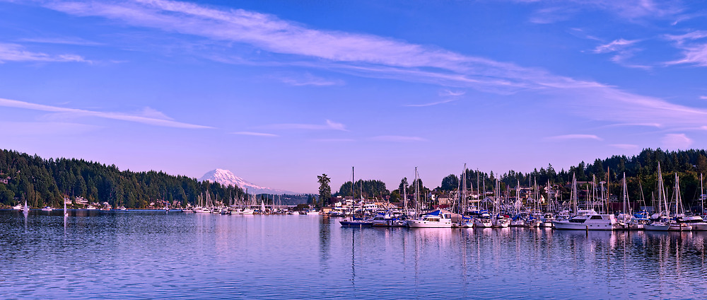 Gig Harbor Bay by Dan Mihai