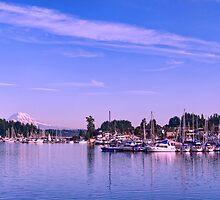 Gig Harbor Bay by Dan Mihai