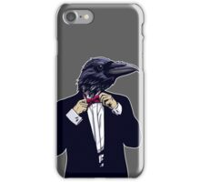 Raven Tuxedo iPhone Case/Skin