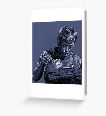 Doctor Leonard McCoy - Star Trek TOS Greeting Card