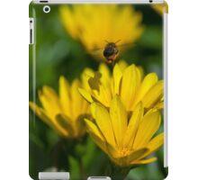 Bee flying mid air iPad Case/Skin