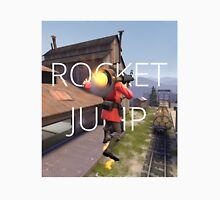 TF2: Rocket Jump (Hard edge) Long Sleeve T-Shirt