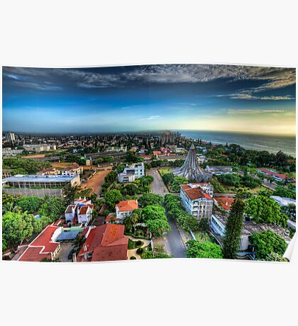 Maputo City from Above Poster