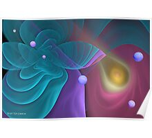 Abstract in Pastel Poster