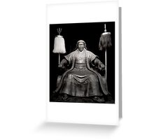 The Great Genghis Khan By Jonathan Green Greeting Card