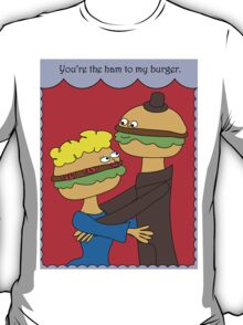 Hamburgers in Love T-Shirt