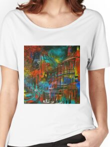 Story Bridge & Hotel, Brisbane. Women's Relaxed Fit T-Shirt