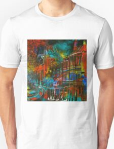 Story Bridge & Hotel, Brisbane. Unisex T-Shirt
