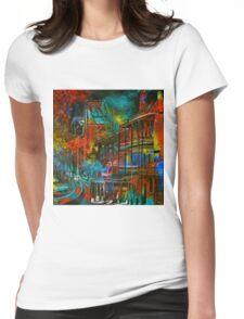 Story Bridge & Hotel, Brisbane. Womens Fitted T-Shirt
