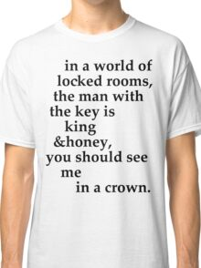 the man with the key Classic T-Shirt