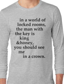 the man with the key Long Sleeve T-Shirt