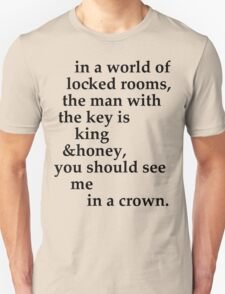 the man with the key Unisex T-Shirt