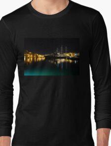 Reflecting on Malta - Vittoriosa and Senglea Megayachts Long Sleeve T-Shirt