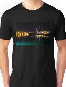 Reflecting on Malta - Vittoriosa and Senglea Megayachts Unisex T-Shirt