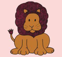 Lion Swirls Kids Tee