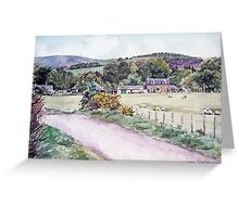 Northmuir Farm, Kirriemuir,Scotland Greeting Card