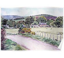 Northmuir Farm, Kirriemuir,Scotland Poster