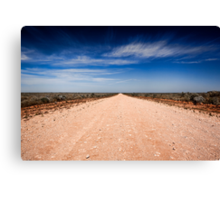 Road to Mungo - Mungo NP, NSW Canvas Print