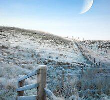 Crecsent moon hillside by kevindobie