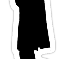 Believe (Sherlock Silhouette) Sticker