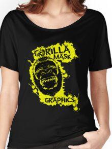 Gorilla Mask Graphics logo  Women's Relaxed Fit T-Shirt