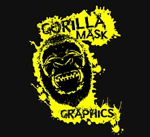 Gorilla Mask Graphics logo  T-Shirt