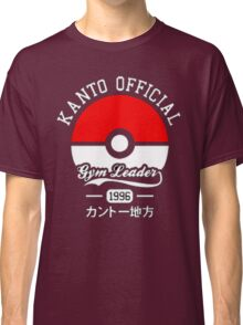 KANTO OFFICIAL POKEMON GYM Classic T-Shirt