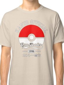 KANTO OFFICIAL POKEMON GYM Classic T-Shirt