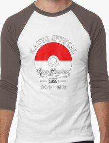KANTO OFFICIAL POKEMON GYM Men's Baseball ¾ T-Shirt