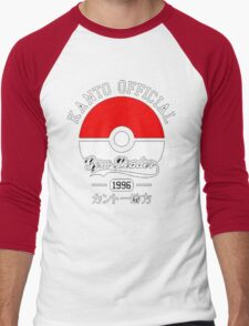 KANTO OFFICIAL POKEMON GYM Men's Baseball ¾ T-Shirt