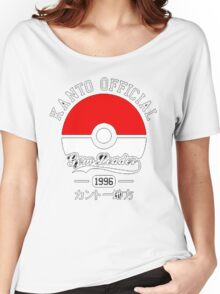 KANTO OFFICIAL POKEMON GYM Women's Relaxed Fit T-Shirt