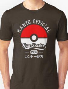 KANTO OFFICIAL POKEMON GYM Unisex T-Shirt