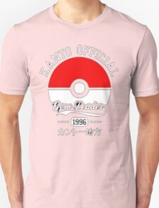 KANTO OFFICIAL POKEMON GYM T-Shirt