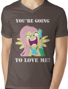 You're Going to Love Me! - Fluttershy Mens V-Neck T-Shirt