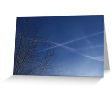 """""""X"""" marks the spot Greeting Card"""