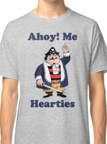 Pirate Pugwash - Ahoy Me Hearties Classic T-Shirt