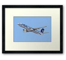 N534AS Alaska Airlines, Boeing 737-890 Framed Print