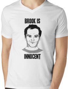Brook is Innocent Mens V-Neck T-Shirt