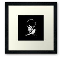 ▴ werewolf ▴ Framed Print