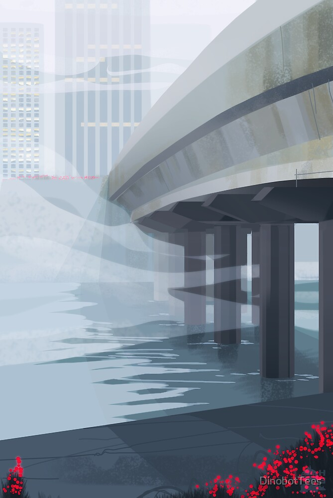 Under the Bridge by DinobotTees