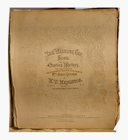 The Wishing Cap Music Page January 08, 1894 Poster