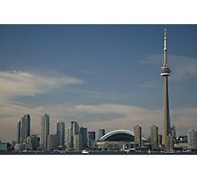 Toronto waterfront from Centre Island Photographic Print