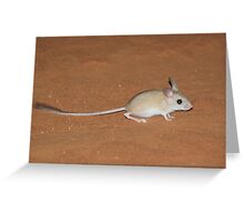 hopping mouse Greeting Card